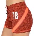 Wholesale E12A Workout shorts Orange/Coral