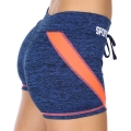 Wholesale E12A Workout shorts Navy/Coral