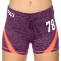 Wholesale E12A Workout shorts Purple/Pink