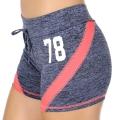 Wholesale E12A Workout shorts Blue/Pink