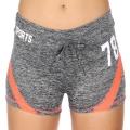 Wholesale E12A Workout shorts Grey/Coral