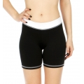 Wholesale P05 Contrast waistband yoga shorts WT