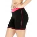 Wholesale P05 Contrast waistband yoga shorts FU