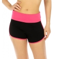wholesale B12 Cotton dolphin shorts Pink/Black