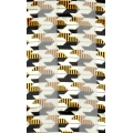 Wholesale G06A 13X60 SATIN STRIPE Hounds Tooth BKGL