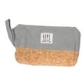 Wholesale T10B Cotton blend eco-friendly pouch with side handle GR