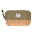 Wholesale T10B Cotton blend eco-friendly pouch with side handle OV