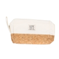 Wholesale T10B Cotton blend eco-friendly pouch with side handle WH