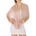 wholesale Pearl trim infinity scarf PK fashionunic