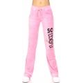 wholesale K57 GVP07 Cotton velour pants print Coral
