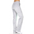 wholesale H37 11 Embroidered cotton velour pants Grey