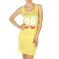 wholesale K22 Number printed sleep shirt Yellow