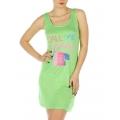 wholesale K22 Call me tank sleep shirt Green fashionunic