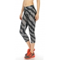 Wholesale P03 Faded stripe active leggings GRAY