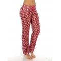wholesale K58 Monkey print cotton pajama pants Pink