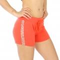 Wholesale M21 Cotton blend active shorts Buzz Orange