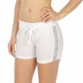 Wholesale M21 Cotton blend active shorts Buzz White