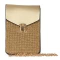 Wholesale N03A Phone crossbody bag Gold