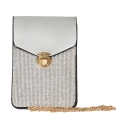 Wholesale N03A Phone crossbody bag Silver