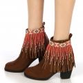 wholesale N46 Tribal fringe anklet BO fashionunic