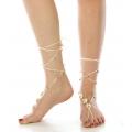 wholesale N42 Bohemian crochet barefoot sandal GWMT