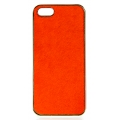 wholesale N38 Calf hair cell phone case Orange