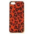 wholesale N38 Leopard calf hair cell phone case Orange