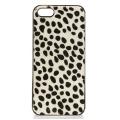 wholesale N38 Cheetah calf hair cell phone case White