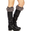 Wholesale R19 Ruffles & lace boot toppers GR