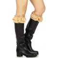 Wholesale R19 Ruffles & lace boot toppers N
