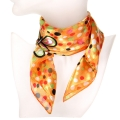 Wholesale O31B Polka dots butterfly satin striped 21 X 21 square scarf OR