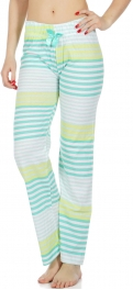 Wholesale E38E Striped lounge pants Mint