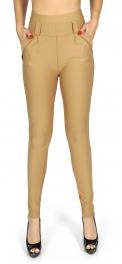 wholesale A19 Solid Roman jeggings pants Blue S/M