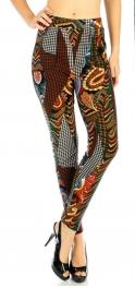 wholesale Q57 Leopard jewelery cotton fur leggings