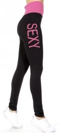 wholesale E22 Two-tone Sexy leggings Coral Plus size
