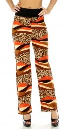 Wholesale B33 Bright cheetah pants OR/BR fashionunic