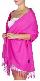 wholesale D12 Neon silky solid pashmina 804 Crush berry