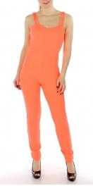 Wholesale K41 Sleeveless solid jumpsuit Black