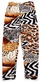 Wholesale A28 Multi animal print kids softbrush leggings