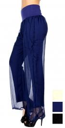 Wholesale U67C Cotton blend double layered pants