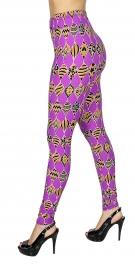dc1258a36eaefe F24 NEW MIX purple print soft brush leggings. CODE: SL-F681