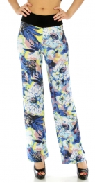 Wholesale B33 Large flower pants BL fashionunic