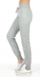 Wholesale K00 Solid quilted jogger pants WT fashionunic