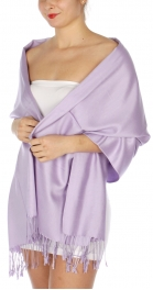 wholesale D36 Solid HD Wedding Pashmina 16 Lavender