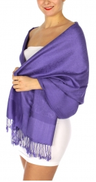 wholesale D35 Whole Jacquard Pashmina 77 Medium Purple