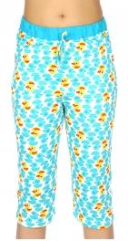 wholesale N13 Cotton capri pajama pants Blue/Duck