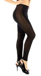 wholesale N39 Lurex moto leggings Gold S/M fashionunic