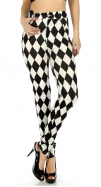 wholesale C18 Rhombus pockets button pants M fashionunic