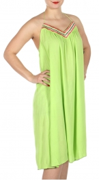 Wholesale I33D Neck Tie Around Wrinkle Dress GN