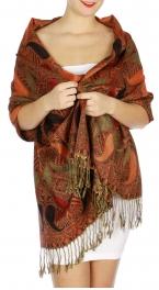 wholesale D05 Contiguous Paisley Pashmina 01 fashionunic